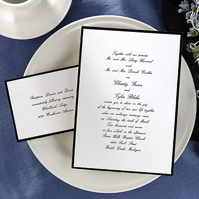 Elegant Wedding Invitation Wording