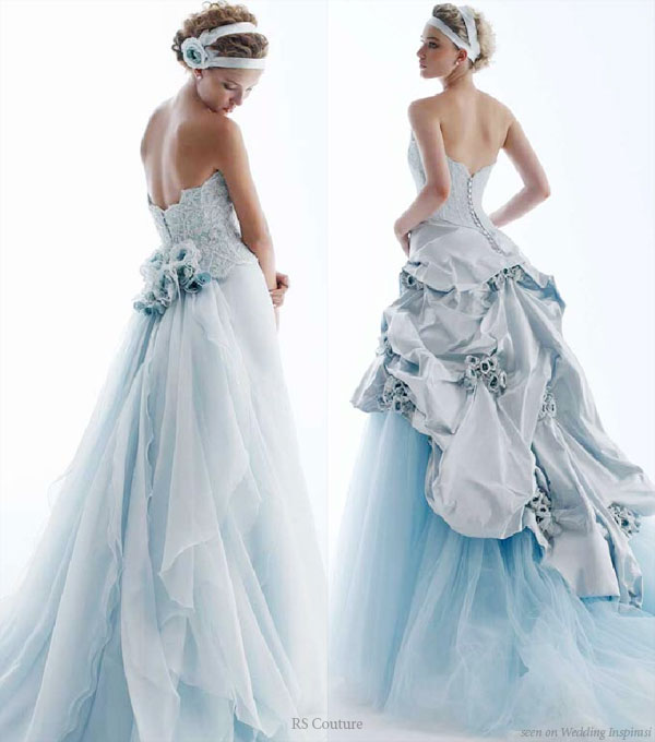 Baby blue wedding dresses - The Wedding SpecialistsThe Wedding ...