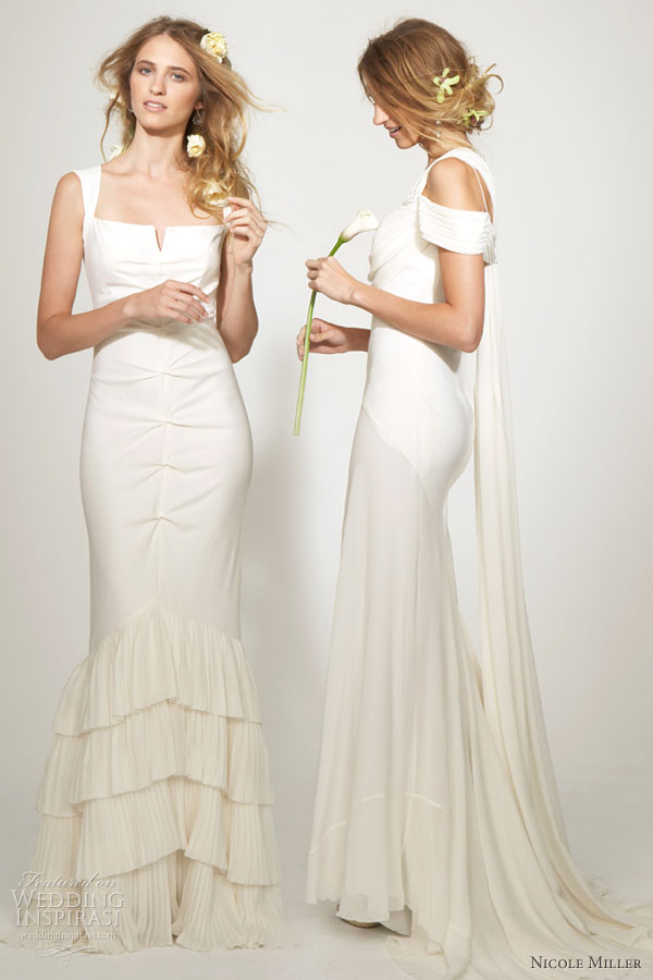 Most Of The Designer Wedding Dresses Created By Nicole Miller