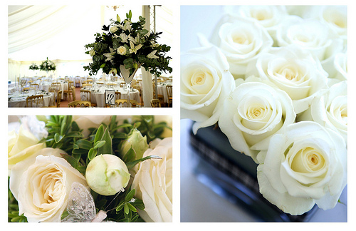 White rose wedding flower centerpieces the wedding specialiststhe the mightylinksfo