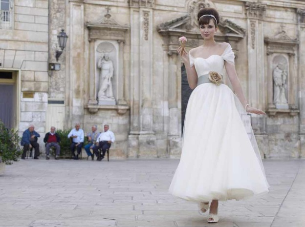 Tea-length Stephanie Allin Wedding Dresses - The Wedding ...