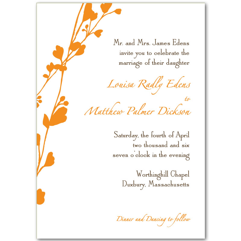 Free Downloadable Wedding Invitations