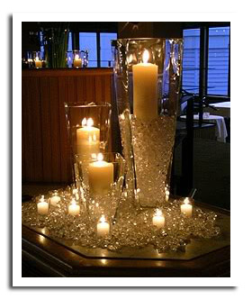 sparkling-diamond-bling-candle-centerpiece