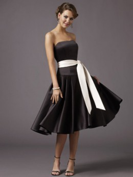Black and White Bridesmaid Dresses - The Wedding SpecialistsThe ...