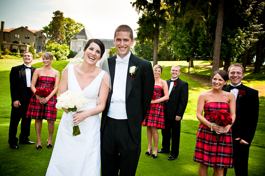 Plaid Bridesmaid Dresses - The Wedding SpecialistsThe Wedding ...