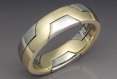 puzzle wedding rings - Puzzle Wedding Rings