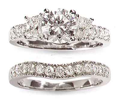 The most expensive wedding ring Used wedding ring sets