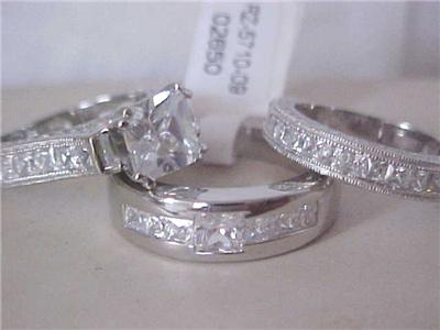 3 rings wedding - Used Wedding Rings For Sale