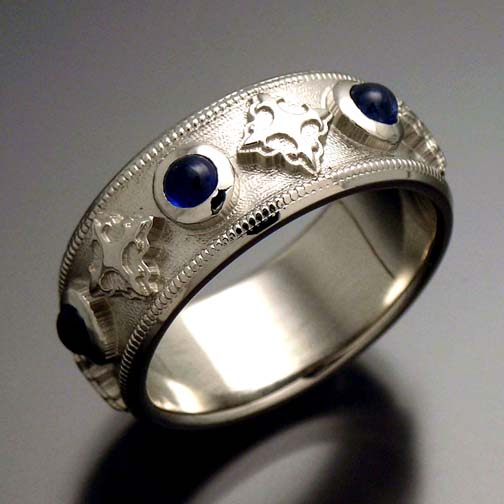 you - Gothic Wedding Rings
