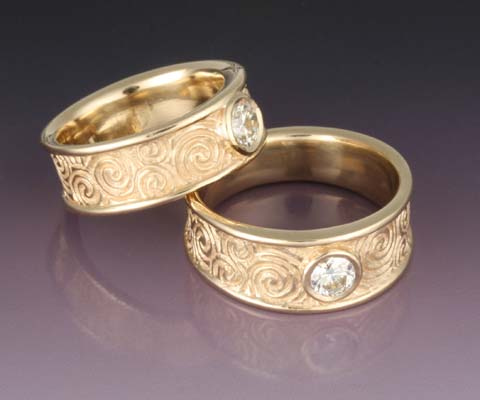One Can Find Different Types Of Irish Wedding Rings.