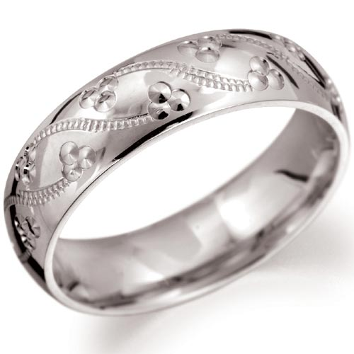 you can choose from several antique wedding ring engraved