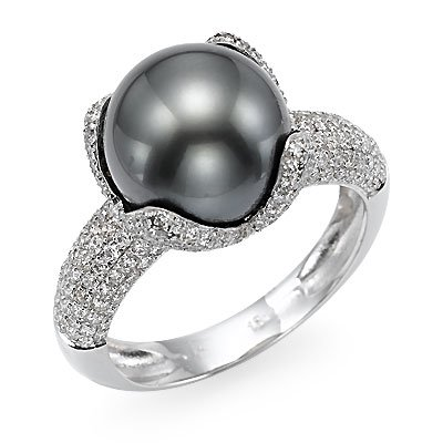 black pearl and wedding rings the wedding