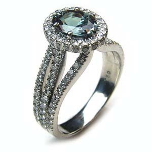 weve chosen the alexandrite - Alexandrite Wedding Ring