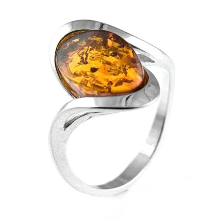 Amber Wedding Ring