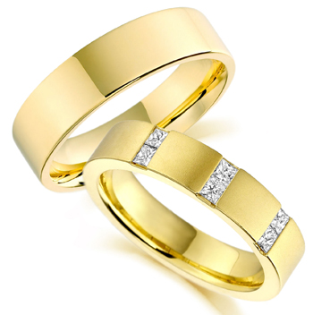 yellow gold wedding ring designs